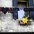 Hanging Out To Dry In Venice 2 by Madeline Ellis