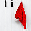 Hanging Santa Hat by Amanda Elwell