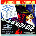 Hangmen Also Die, Us Poster, From Left by Everett