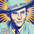Hank Williams Pop Art by Jim Zahniser