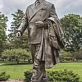 Hannah Statue At Msu by John McGraw