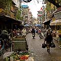 Hanoi Street Market    by J L Woody Wooden
