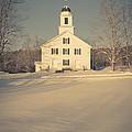 Hanover Center Church Etna New Hampshire by Edward Fielding