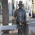 Hans Christian Andersen Sculpture by Jan Katuin