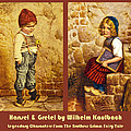 Hansel And Gretel Brothers Grimm by Wilhelm Kaulbach
