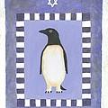 Hanukka Penguin Three by Linda Mears