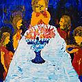 Hanukkah Menorah by Walt Brodis