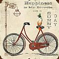Happiness Is My Bicycle by Jean Plout