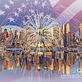 Happy Birthday America by Susan Candelario