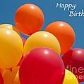 Happy Birthday Balloons by Ann Horn