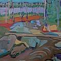 Happy Brook  by Francine Frank