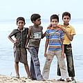 Happy Children  by Saju S