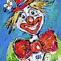 Happy Clown-ideal For Childrens Nurserys by Mary Cahalan Lee- aka PIXI