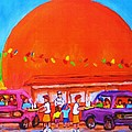 Happy Days At The Big  Orange by Carole Spandau