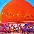 Happy Days At The Big  Orange by Carole Spandau