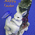 Happy Easter Card 3 by Aimee L Maher ALM GALLERY