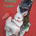 Happy Easter Card 5 by Aimee L Maher ALM GALLERY
