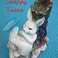 Happy Easter Card 7 by Aimee L Maher ALM GALLERY