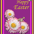 Happy Easter Hiding Bunny by Irina Sztukowski