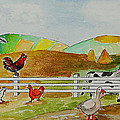 Happy Farm by Janis Lee Colon