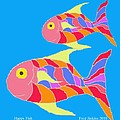 Happy Fish  by Fred Jinkins