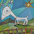 Happy Goat by Janine Cooper Ayres