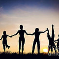 Happy Group Of People Friends Family Together by Michal Bednarek