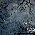 Happy Halloween - Ghost In Trees by Mother Nature