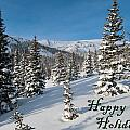 Happy Holidays - Winter Wonderland by Cascade Colors