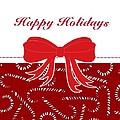 Happy Holidays by Florene Welebny