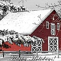 Happy Holidays by Living Color Photography Lorraine Lynch