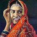 Happy Indian Women by Sundarakannan Srinivasan