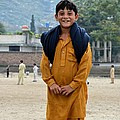 Happy Laughing Pathan Boy In Swat Valley Pakistan by Imran Ahmed