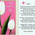 Happy Mother's Day by Barbara Griffin