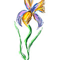 Happy Mother's Day Iris by Angela Stanton