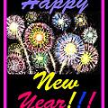 Happy New Year by Irina Sztukowski