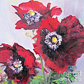 Happy Poppies by Marge Casey