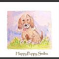 Happy Puppy Smiles by Debbie Portwood