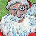 happy Santa by Todd  Peterson