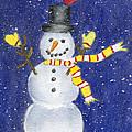 Happy Snow by Rhonda Leonard