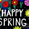 Happy Spring by Ed Weidman