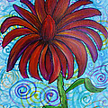 Happy Spring Flower by Jacqueline Athmann