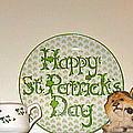 Happy St Patrick's Day  by Nancy Patterson