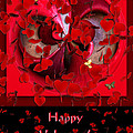 Happy Valentine's Day Card by Paula Ayers