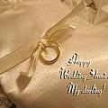 Happy Wedding Anniverary by Linda Phelps