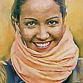 Happy Woman by Yury Malkov
