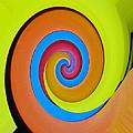 Happy Swirl by David Lee Thompson