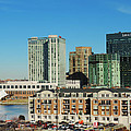 Harbor East Complex In Baltimore From Federal Hill by Cityscape Photography