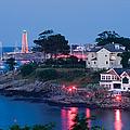 Marblehead Harbor Illumination by Jeff Folger