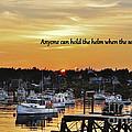 Harbor Inspiration by Karin Pinkham